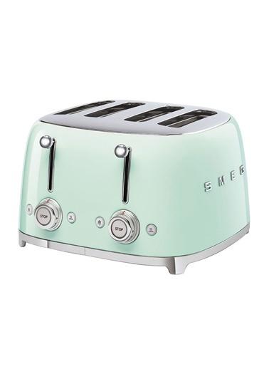 Smeg Smeg Pastel Yeşil 1x4 Ekmek Kızartma Makinesi Yeşil